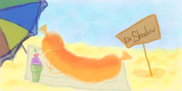 Dr.Shadow на пляже