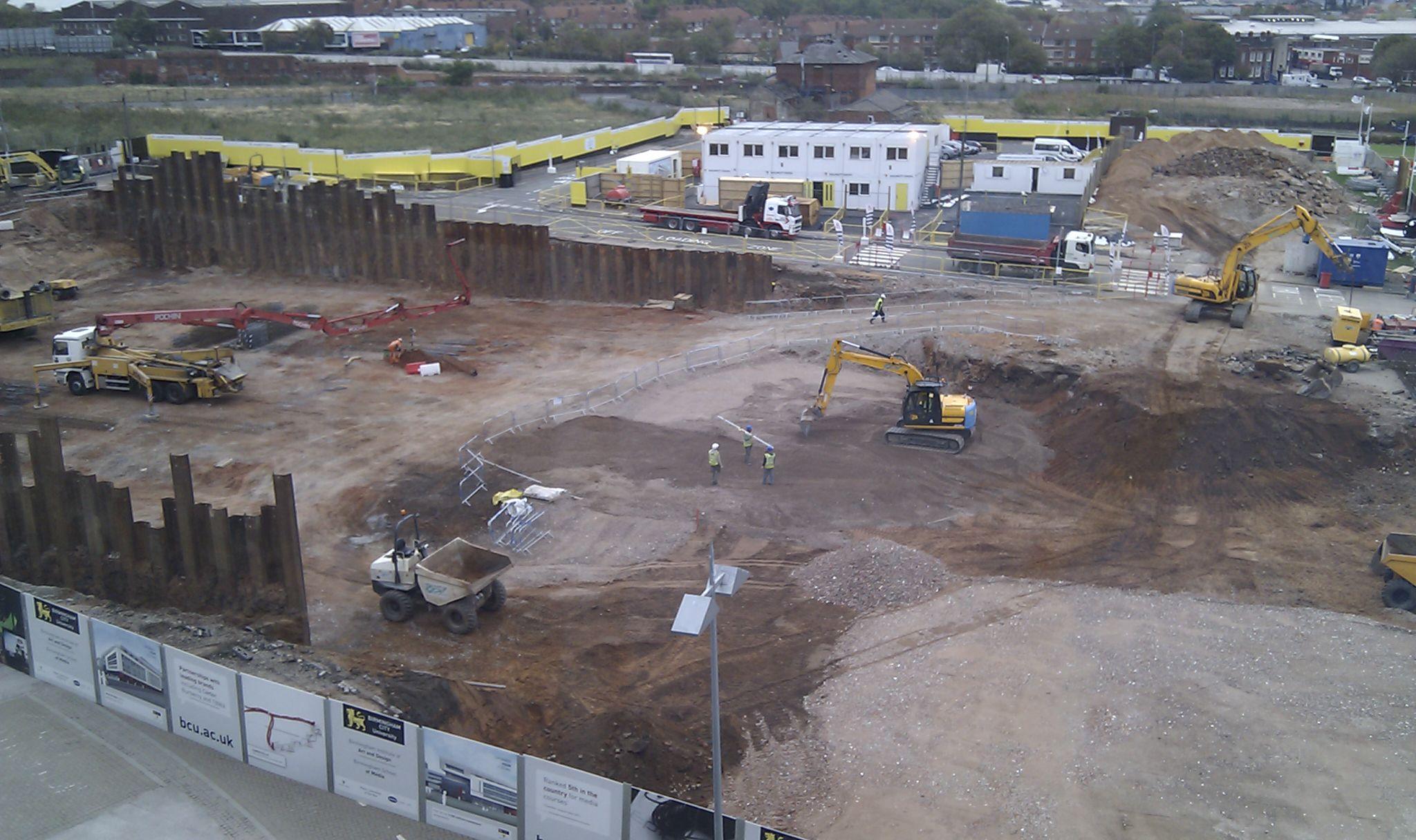 Строительство нового корпуса университета