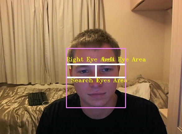 OpenCV eye detection