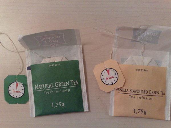 Зелёный чай разных сортов требует разного времени для заварки