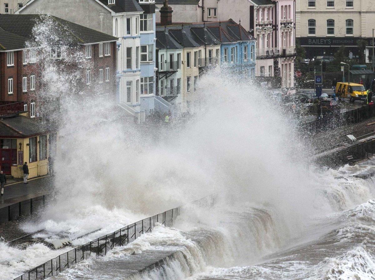 Наводнение в графстве Девон