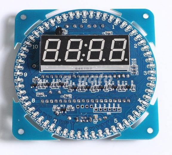 Часы с термометром
