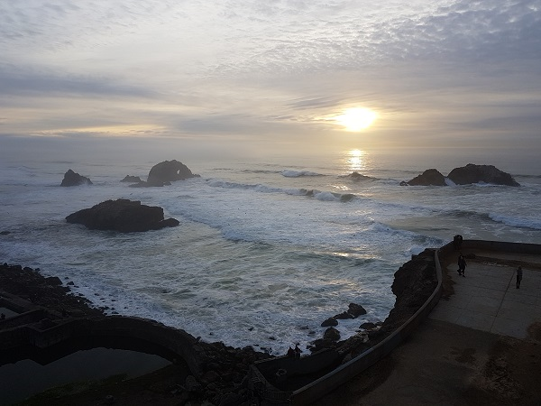 Вид на Тихий океан