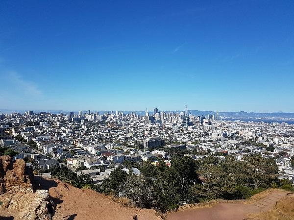 Вид на Сан-Франциско