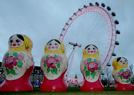Русская зима в Лондоне 2008
