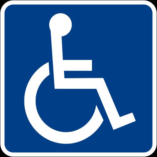Международный знак инвалида